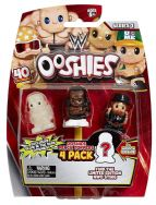 Ooshies 4 Pack WWE Wrestling Figures - Booker T, Bray Wyatt & Macho Man